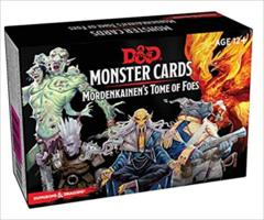 Dungeons & Dragons Spellbook Cards: Mordenkainen's Tome of Foes