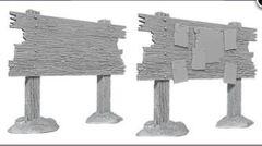 WizKids Deep Cuts Unpainted Miniatures: W10 Bounty Board