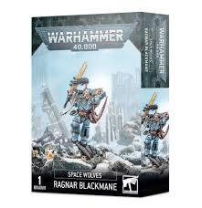 9th edition Space Wolves Ragnar Blackmane 53-30