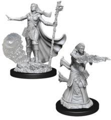 Dungeons & Dragons Nolzur`s Marvelous Unpainted Miniatures: W11 Female Human Wizard