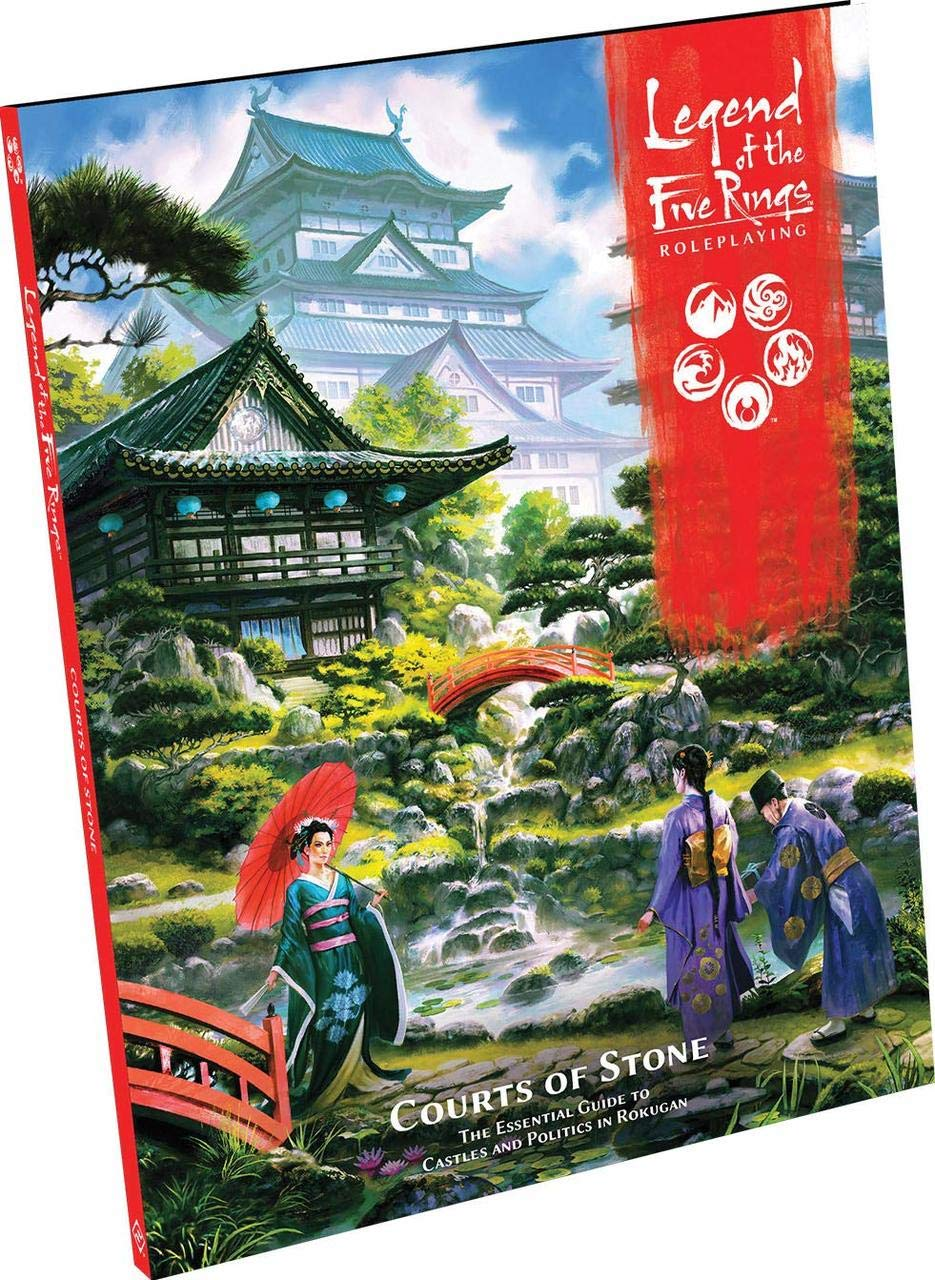 Legend of the Five Rings Roleplaying Courts of Stone
