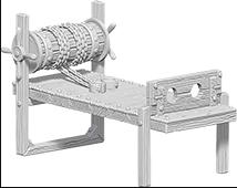 WizKids Deep Cuts Unpainted Miniatures: W6 Torture Rack