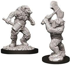 Dungeons & Dragons Nolzur`s Marvelous Unpainted Miniatures: W9 Wereboar & Werebear