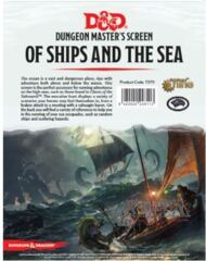 Dungeons and Dragons RPG: Of Ships and the Sea DM Screen