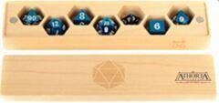 Premium Wood Dice Vault: Maple