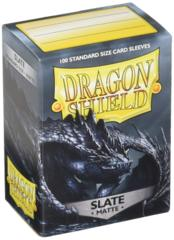 Dragon Shield Sleeves: Matte Slate (100)