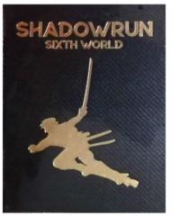 Shadowrun SIxth world Core rulebook alternate cover