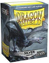 Dragon Shield Silver Matte Non Glare
