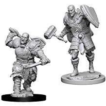 Dungeons & Dragons Nolzur`s Marvelous Unpainted Miniatures: W7 Male Goliath Fighter
