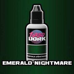 Emerald Nightmare Metallic Paint