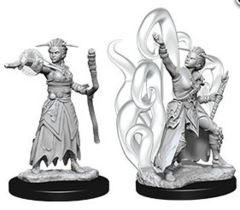 Dungeons & Dragons Nolzur`s Marvelous Unpainted Miniatures: W10 Female Human Warlock