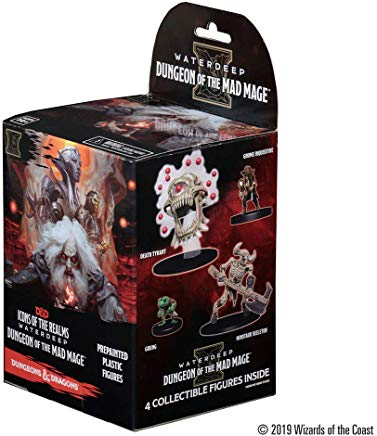 WizKids D&D Icons of The Realms: Waterdeep: Dungeon of The Mad Mage Booster