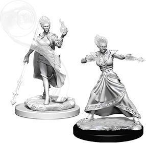 Dungeons & Dragons Nolzur`s Marvelous Unpainted Miniatures: W5 Fire Genasi Female Wizard