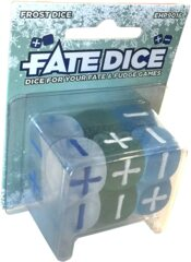 Fate Core RPG: Fate Dice - frost