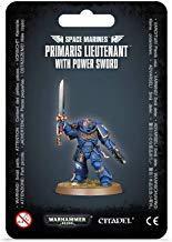 Primaris Lieutenant with Power Sword