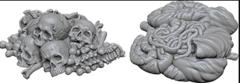 WizKids Deep Cuts Unpainted Miniatures: W6 Pile of Bones & Entrails