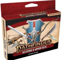 Pathfinder RPG: Weapons and Armor Deck (P2)