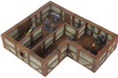WarLock Tiles: Town & Village II Full Height Plaster Walls Expansion
