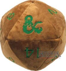 Dungeons & Dragons: Copper and Green D20 Jumbo Plush