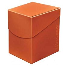 Ultra Pro Standard Eclipse Pro 100+ Deck Box - Pumpkin Orange