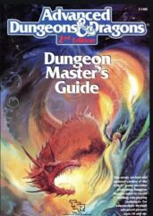 Advanced Dungeons & Dragons Dungeon Master's Guide, 2nd Edition Hardcover