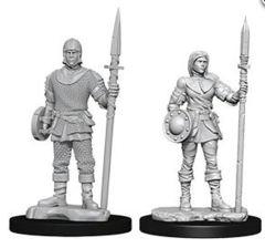 WizKids Deep Cuts Unpainted Miniatures: W10 Guards