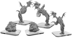 Monsterpocalypse: Lords of Cthul - Squix & Meat Slave