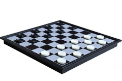 Folding Plastic Magnetic Travel Chess Set - 10
