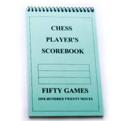 Chess Player's Scorebook (120 Moves/Game)
