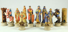 Crusaders vs. Saracens Chess Set