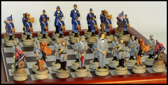 U.S. Civil War Chess Set