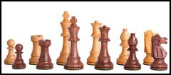 Club Series Chess Set in Sheesham - 3.75