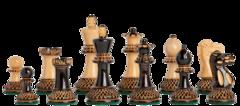 Grandmaster Series Chess Set in Burnt Boxwood - 4