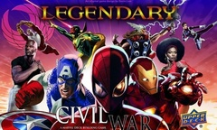 Legendary: A Marvel Deck Building Game - Civil War Expansion