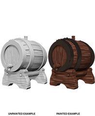 Pathfinder Battles Unpainted Minis - Keg Barrels
