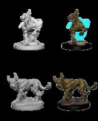 Nolzur's Marvelous Unpainted Miniatures - Blink Dogs