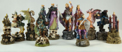 Medieval Fantasy Chess Set