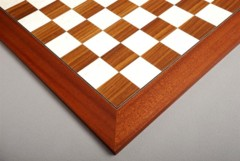 Rosewood and Bird's Eye Maple Chessboard