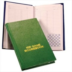 Chess Player's Scorebook (Hardcover)