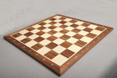 Walnut Tournament Chessboard