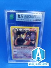 2000 WOTC POKEMON ROCKET DARK CHARIZARD HOLO NM-MT #4/82 - MNT 8.5 (like PSA)