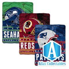 NFL Fleece Throw Blanket - Seattle Seahawks