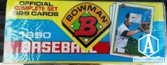 Bowman 1990 Baseball Complete Set 528 Cards New Sealed Box