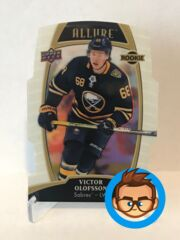 2019-20 Upper Deck Allure - Victor Olofsson - Rookie - White Rainbow - #88 (RC)