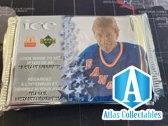 Wayne Gretzky ICE Mcdonalds Upper Deck Booster Pack - Sealed