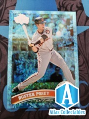 Buster Posey Card 2011 Topps Blue Hope Diamond Anniversary #335 Giants RARE /60