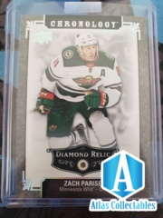 2019-20 Chronology Diamond Relic /36 Zach Parise - 'Real Diamond' RARE