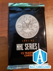 Pro Set 1991-1992 NHL Series I - Sealed 12 card Booster Pack