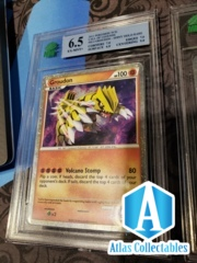 2011 Pokémon Groudon Holo Call Of Legends SL4 MNT 6.5 (like psa)