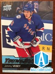2016-17 UD Hockey Series 1 Young Guns Rookie Jimmy Vesey #218